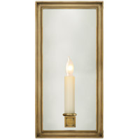 Visual Comfort E.F. Chapman Lund 1 Light Decorative Wall Light in Antique-Burnished Brass CHD2051AB