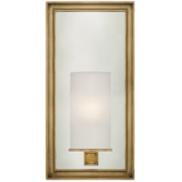 Visual Comfort CHD2051AB-FG E. F. Chapman Lund 1 Light 6 inch Antique-Burnished Brass Bath Wall Light in Frosted Glass