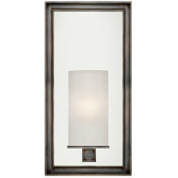 Visual Comfort CHD2051BZ-FG E. F. Chapman Lund 1 Light 6 inch Bronze Bath Wall Light in Frosted Glass