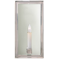 Visual Comfort E.F. Chapman Lund 1 Light Decorative Wall Light in Polished Nickel CHD2051PN