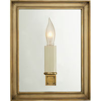 Visual Comfort E.F. Chapman Lund 1 Light Decorative Wall Light in Antique-Burnished Brass CHD2053AB