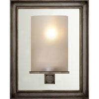 Visual Comfort CHD2053BZ-FG E. F. Chapman Lund 1 Light 6 inch Bronze Bath Wall Light in Frosted Glass