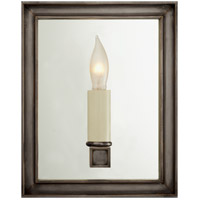 Visual Comfort E.F. Chapman Lund 1 Light Decorative Wall Light in Bronze CHD2053BZ