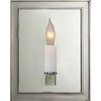 Visual Comfort E.F. Chapman Lund 1 Light Decorative Wall Light in Polished Nickel CHD2053PN