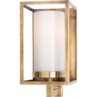 Visual Comfort CHD2055AB-WG E. F. Chapman Easterly 1 Light 5 inch Antique-Burnished Brass Bath Wall Light in Antique Burnished Brass
