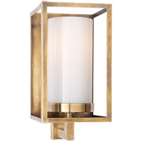 Visual Comfort CHD2055AB-WG E. F. Chapman Easterly 1 Light 5 inch Antique-Burnished Brass Bath Wall Light