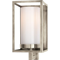 Visual Comfort E.F. Chapman Easterly 1 Light Bath Wall Light in Antique Nickel CHD2055AN-WG