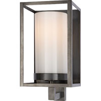 Visual Comfort E.F. Chapman Easterly 1 Light Bath Wall Light in Bronze with Wax CHD2055BZ-WG