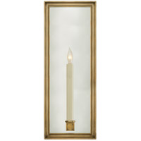 Visual Comfort E.F. Chapman Lund 1 Light Decorative Wall Light in Antique-Burnished Brass CHD2056AB