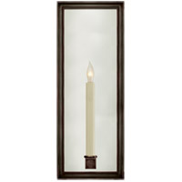 Visual Comfort E.F. Chapman Lund 1 Light Decorative Wall Light in Bronze CHD2056BZ