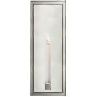 Visual Comfort E.F. Chapman Lund 1 Light Decorative Wall Light in Polished Nickel CHD2056PN