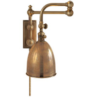 Visual Comfort CHD2150AB-AB E. F. Chapman Pimlico 28 inch 60 watt Antique-Burnished Brass Swing-Arm Wall Light