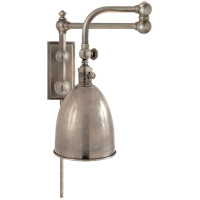 Visual Comfort E. F. Chapman Pimlico 28 inch 60 watt Antique Nickel Swing-Arm Wall Light CHD2150AN-AN - Open Box