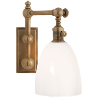 Visual Comfort CHD2153AB-WG E. F. Chapman Pimlico 1 Light 6 inch Antique-Burnished Brass Bath Wall Light
