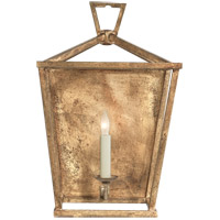 Visual Comfort E.F. Chapman Darlana 1 Light Decorative Wall Light in Gilded Iron with Wax CHD2165GI