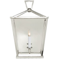 Visual Comfort E.F. Chapman Darlana 1 Light Decorative Wall Light in Polished Nickel CHD2165PN