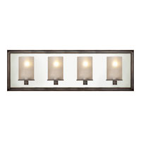 Visual Comfort E.F. Chapman Lund 4 Light Bath Wall Light in Bronze with Wax CHD2253BZ-FG