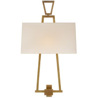 Visual Comfort CHD2266AB-NP E. F. Chapman Darlana 2 Light 13 inch Antique Burnished Brass Decorative Wall Light