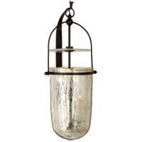 Visual Comfort CHD2270AI-MG E. F. Chapman Lorford 3 Light 14 inch Aged Iron Sconce Wall Light, Medium