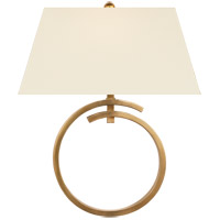 Visual Comfort CHD2401AB-PL E. F. Chapman Launceton 1 Light 15 inch Antique-Burnished Brass Wall Sconce Wall Light Large Ring