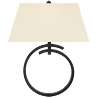 Visual Comfort CHD2401BZ-PL E. F. Chapman Launceton 1 Light 15 inch Bronze Wall Sconce Wall Light, Large Ring