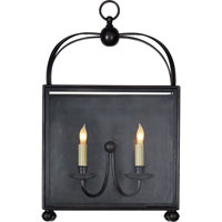 Visual Comfort CHD2421BZ E.F. Chapman Arch Top 2 Light 22 inch Bronze Wall Lantern