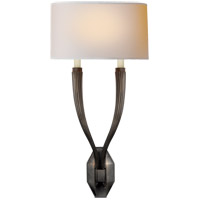 Visual Comfort CHD2461BZ-NP E. F. Chapman Ruhlmann 2 Light 11 inch Bronze Decorative Wall Light