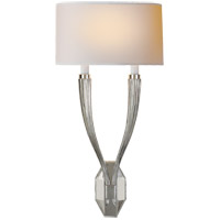 E. F. Chapman Ruhlmann 2 Light 11 inch Polished Nickel Decorative Wall Light