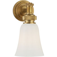 Visual Comfort E.F. Chapman Ruhlmann 1 Light Bath Wall Light in Antique-Burnished Brass CHD2462AB-WG