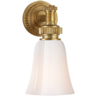Visual Comfort E. F. Chapman Ruhlmann 1 Light 6 inch Antique-Burnished Brass Bath Wall Light in Antique Burnished Brass CHD2462AB-WG - Open Box