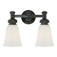 Visual Comfort CHD2463BZ-WG E. F. Chapman Ruhlmann 2 Light 15 inch Bronze Bath Wall Light