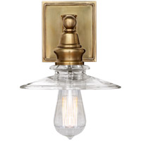 Visual Comfort CHD2473AB-CG E. F. Chapman Covington 1 Light 8 inch Antique-Burnished Brass Bath Sconce Wall Light in Antique Burnished Brass