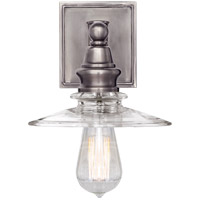 Visual Comfort CHD2473AN-CG E. F. Chapman Covington 1 Light 8 inch Antique Nickel Bath Sconce Wall Light