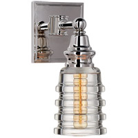 Visual Comfort CHD2474PN-CG E. F. Chapman Covington 1 Light 5 inch Polished Nickel Bath Sconce Wall Light
