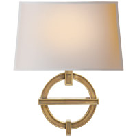 Visual Comfort CHD2540AB-NP E. F. Chapman Symbolic Fragment 1 Light 14 inch Antique-Burnished Brass Decorative Wall Light