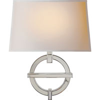 Visual Comfort CHD2540PN-NP E. F. Chapman Symbolic Fragment 1 Light 14 inch Polished Nickel Decorative Wall Light