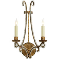 Visual Comfort CHD2550GI-CG E. F. Chapman Oslo 2 Light 10 inch Gilded Iron with Wax Decorative Wall Light