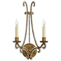 Visual Comfort CHD2550GI-CG E. F. Chapman Oslo 2 Light 10 inch Gilded Iron Decorative Wall Light