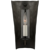 Aged Black Wall Sconces