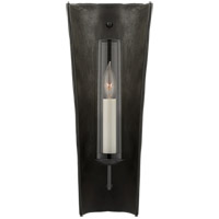 Visual Comfort CHD2606SBM Chapman & Myers Downey 1 Light 7 inch Stained Black Metallic and Aged Iron Reflector Sconce Wall Light Medium