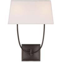 Visual Comfort CHD2621BZ-L E. F. Chapman Venini 2 Light 14 inch Bronze Wall Sconce Wall Light