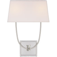 Visual Comfort CHD2621PN-L E. F. Chapman Venini 2 Light 14 inch Polished Nickel Wall Sconce Wall Light
