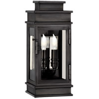Visual Comfort CHD2907BZ-CG E. F. Chapman Linear Lantern 2 Light 12 inch Bronze Outdoor Mini Wall Lantern