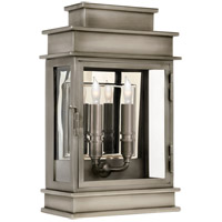 E.F. Chapman 2 Light 9 inch Antique Nickel Wall Lantern Wall Light