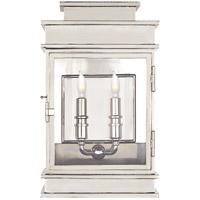 Visual Comfort CHD2908PN E. F. Chapman Linear 2 Light 15 inch Polished Nickel Wall Lantern
