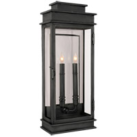 Visual Comfort E.F. Chapman 2 Light Wall Lantern in Bronze with Wax CHD2910BZ