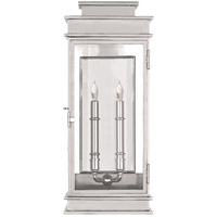 Visual Comfort E.F. Chapman 2 Light Wall Lantern in Polished Nickel CHD2910PN