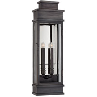 E. F. Chapman Linear 2 Light 29 inch Bronze Outdoor Wall Lantern, Large