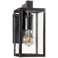 E.F. Chapman Fresno Framed 1 Light 11 inch Aged Iron Outdoor Wall Lantern