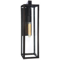 Visual Comfort E. F. Chapman Fresno Framed 1 Light 22 inch Aged Iron Outdoor Wall Lantern CHD2935AI-CG - Open Box